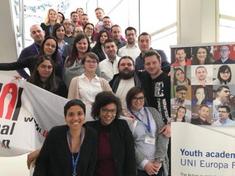 Youth Academy for UNI Europa Finance 2018